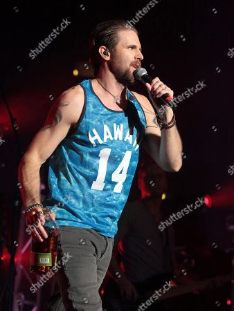 Singer-songwriter Canaan Smith performs in concert as the opening act for Brantley Gilbert during his Blackout Tour 2016 at the Giant Center, in Hershey, Pa