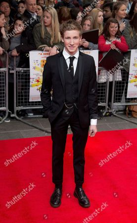 Stock Photo of British actor Dominic Herman Day arrives at the UK Premiere of All Stars, at a central London cinema