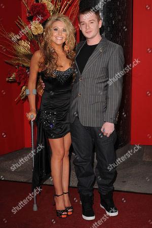 Kelly-Marie Stewart and Garnon Davies