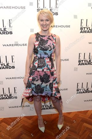 ELLE Magazine UK editor Lorraine Candy attends the ELLE Style Awards 2014 at One Embankment, in London