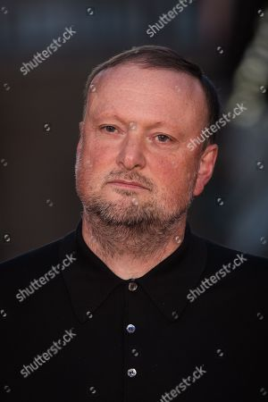 Stock Picture of Andrew Starke poses for photographers upon arrival at the premiere of the film 'Free Fire', in London