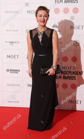 Dorothy Atkinson arrives for the British Independent Film Awards at Old Billingsgate Market in central London