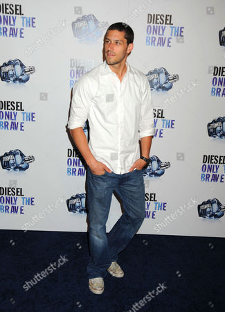Editorial picture of Launch of the new Diesel Men's Fragrance 'Only The Brave' in West Hollywood, America - 09 May 2009