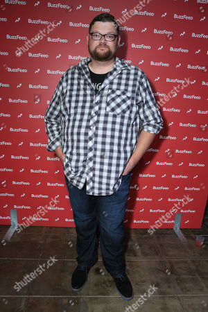 Stock Image of Christopher Douglas Reed at BuzzFeed LA's Office Grand Opening, on in Los Angeles