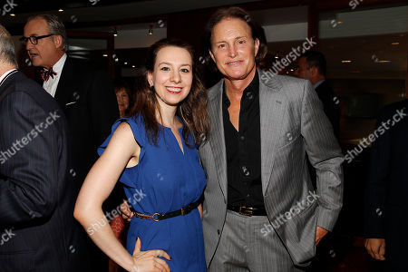 Sarah Hughes and Bruce Jenner arrives at the Annual Charity Day hosted by Cantor Fitzgerald and BGC Partners, on in New York