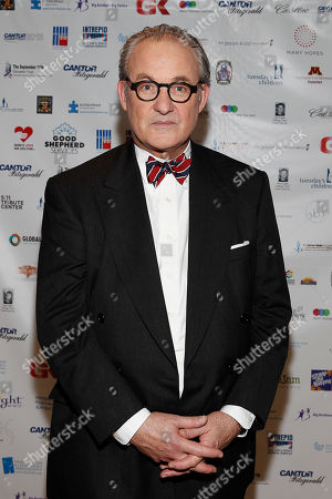 Tom Keene arrives at the Annual Charity Day hosted by Cantor Fitzgerald and BGC Partners, on in New York
