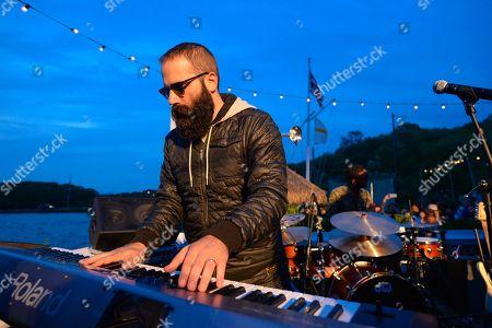 Sebu Simonian of Capital Cities performs at The Surf Lodge, in Montauk