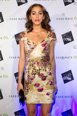 """Stock Picture of Elena Goode attends the """"Showcase 2012"""" event, co-hosted by Case-Mate and Grammy-Award winning artists Fergie and Common, to introduce Case-Mate's new line-up of mobile devices paired with the Spring 2013 line from CZAR by Cesar Galindo, on in New York"""