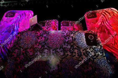 """A general view at the """"Showcase 2012"""" event, co-hosted by Case-Mate and Grammy-Award winning artists Fergie and Common, to introduce Case-Mate's new line-up of mobile devices paired with the Spring 2013 line from CZAR by Cesar Galindo, on in New York"""