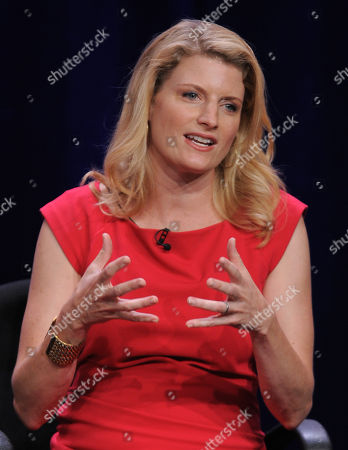 """Executive producer Dana Calvo participates in the CBS """"Made In Jersey"""" TCA panel on in Beverly Hills, Calif"""