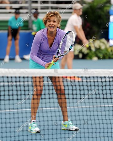 Editorial image of Chris Evert Pro-Celebrity Tennis Classic - Florida, Delray Beach Beach, USA - 22 Nov 2014