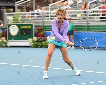 Editorial picture of Chris Evert Pro-Celebrity Tennis Classic - Florida, Delray Beach Beach, USA - 22 Nov 2014