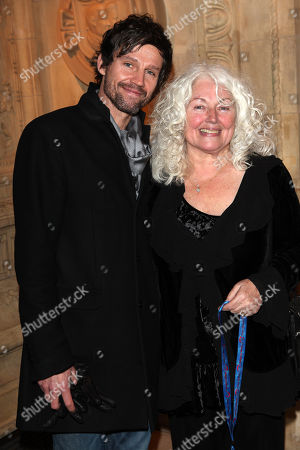 Jason Orange (and mum) seen at the European premiere of Cirque Du Soleil Kooza at the Royal Albert Hall, in London