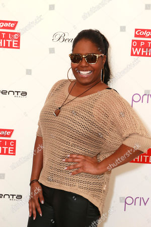 Shar Jackson at The Colgate® Optic White® Beauty Bar at The Selma House in Los Angeles