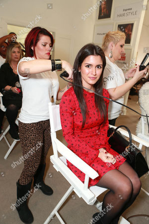 Roxy Sowlaty at The Colgate Optic White Beauty Bar at The Selma House in Los Angeles