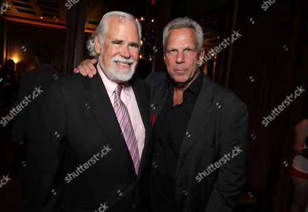 Jeff Blake, Vice Chairman of Sony Pictures Entertainment, Chairman of Worldwide Marketing and Distribution for Sony Pictures Worldwide Marketing and Distribution and Producer Steve Tisch seen at Columbia Pictures 'Sex Tape' World Premiere held at Regency Village Theatre,, in Westwood, Calif