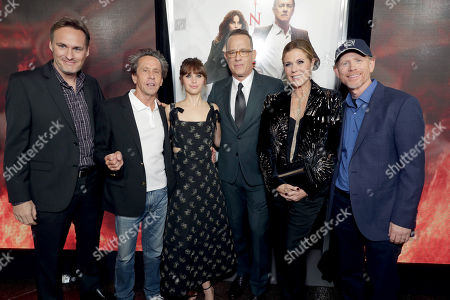"""Editorial image of Columbia Pictures Presents in Association with Imagine Entertainment the Special Red Carpet Screening of """"Inferno"""", Los Angeles, USA - 25 Oct 2016"""