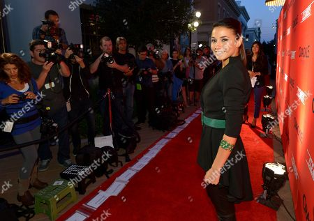 """Emmanuelle Chriqui attends the screening of """"Cleaners"""" at Sony Pictures Studio's Cary Grant Theater, in Culver City, Calif"""