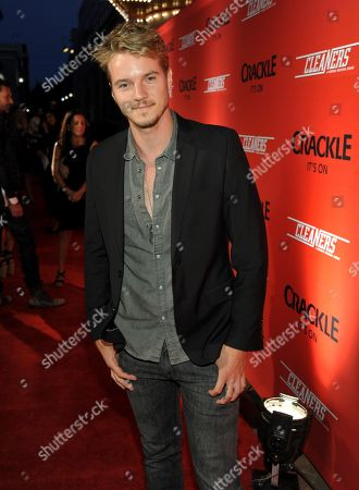 """Nathan Keyes attends the screening of """"Cleaners"""" at Sony Pictures Studio's Cary Grant Theater, in Culver City, Calif"""