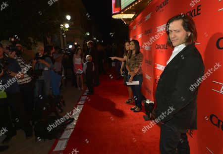 """Clifton Collins, Jr. attends the screening of """"Cleaners"""" at Sony Pictures Studio's Cary Grant Theater, in Culver City, Calif"""