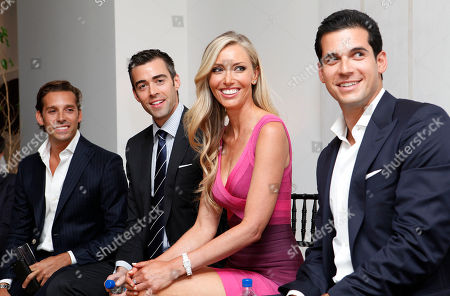 Clayton Orrigo, Noble Black, Melanie Lazenby and Oren Alexander speak at the Rockstars of Real Estate Event hosted by Editor-in-Chief of DETAILS Magazine Dan Peres on in New York