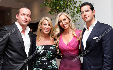 Tal Alexander, Dottie Herman, Melanie Lazenby and Oren Alexander are seen at a panel at the Rockstars of Real Estate Event hosted by Editor-in-Chief of DETAILS Magazine Dan Peres on in New York
