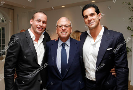 Stock Picture of Tal Alexander, Howard Lormer and Oren Alexander are seen at Rockstars of Real Estate Event hosted by Editor-in-Chief of DETAILS Magazine Dan Peres on in New York