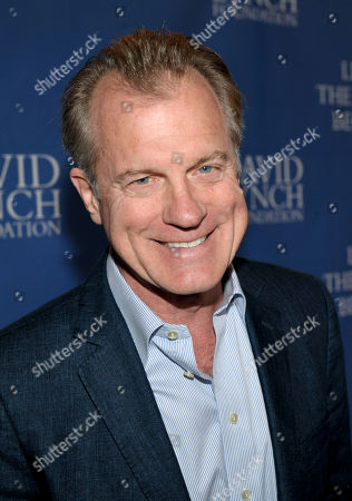 Stephen Collins arrives at the David Lynch Foundation: A Night of Comedy honoring George Shapiro at the Beverly Wilshire Hotel on in Beverly Hills, Calif