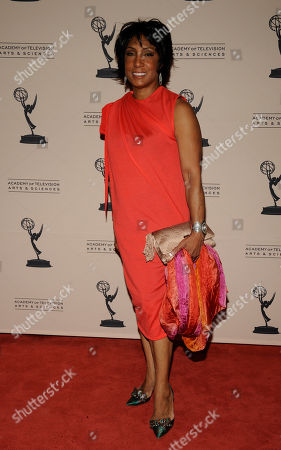 """LOS ANGELES CA - JUNE 14: Actor Carolyn Folks arrives at the """"Daytime Emmy Nominee Reception Presented by the Academy of Television Arts & Sciences' Daytime Programming Peer Group"""" in the Garden Room & Terrace at the SLS Hotel at Beverly Hills on in Los Angeles, California. The 39th Daytime Entertainment Emmy Awards, presented by the National Academy, will take place on June 23, 2012 at The Beverly Hills Hotel"""