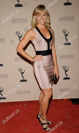 """LOS ANGELES CA - JUNE 14: Actor Tiffany Coyne arrives at the """"Daytime Emmy Nominee Reception Presented by the Academy of Television Arts & Sciences' Daytime Programming Peer Group"""" in the Garden Room & Terrace at the SLS Hotel at Beverly Hills on in Los Angeles, California. The 39th Daytime Entertainment Emmy Awards, presented by the National Academy, will take place on June 23, 2012 at The Beverly Hills Hotel"""
