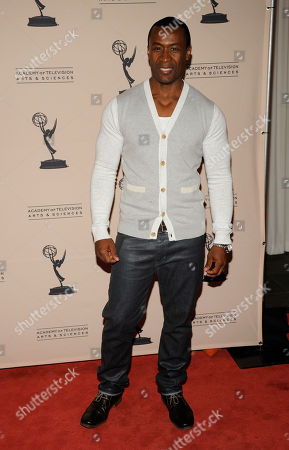 "Stock Picture of LOS ANGELES CA - JUNE 14: Nominee Sean Blakemore arrives at the ""Daytime Emmy Nominee Reception Presented by the Academy of Television Arts & Sciences' Daytime Programming Peer Group"" in the Garden Room & Terrace at the SLS Hotel at Beverly Hills on in Los Angeles, California. The 39th Daytime Entertainment Emmy Awards, presented by the National Academy, will take place on June 23, 2012 at The Beverly Hills Hotel"