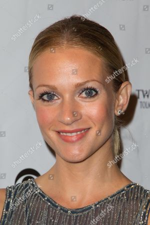 AJ Cook attends the Denim and Diamonds fundraiser at Calamigos Ranch, in Malibu, Calif