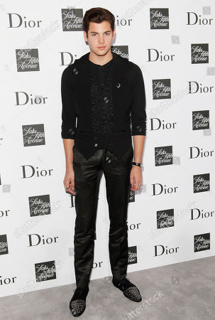 Peter Brant II attends a party to celebrate Dior's fall/winter 2013-2014 Collection at Saks Fifth Avenue, in New York
