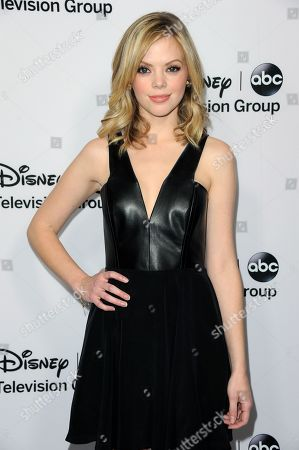 Dreama Walker attends the Disney ABC Winter TCA Tour at the Langham Huntington Hotel, in Pasadena, Calif