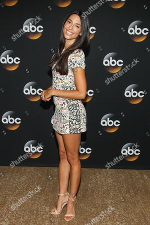 Jade Catta-Preta attend the Disney/ABC Television Group 2014 Summer TCA held at the Beverly Hilton Hotel, in Beverly Hills, Calif