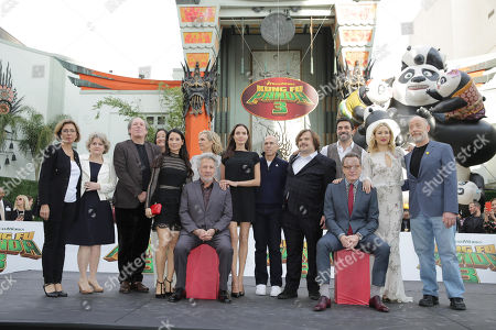 Editorial picture of DreamWorks Animation and Twentieth Century Fox World Premiere of 'Kung Fu Panda 3', Hollywood, USA - 15 Jan 2016