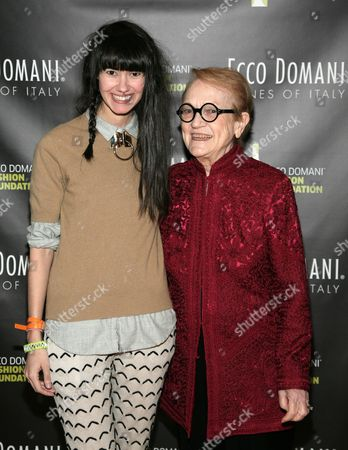 Editorial picture of Ecco Domani Fashion Foundation 2014 Winners Happy Hour, New York, USA - 22 Jan 2014