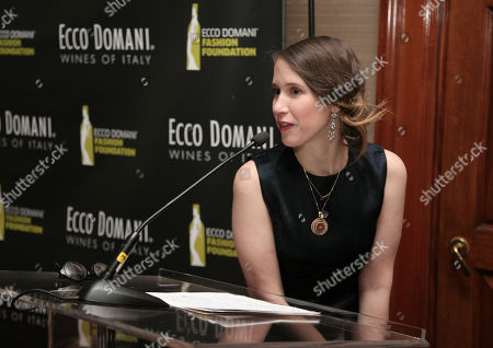 Stock Photo of Fashion designer Jordana Warmflash attends the Ecco Domani Fashion Foundation 2014 Winners Happy Hour, on in New York