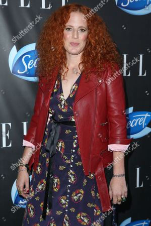 Stock Picture of Morgan Murphy arrives at the ELLE Women in Comedy Event at Hyde Sunset, in Los Angeles