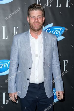 Steve Rannazzisi arrives at the ELLE Women in Comedy Event at Hyde Sunset, in Los Angeles