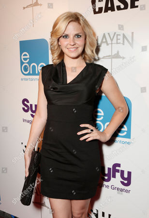 """Nikki Griffin attends the Entertainment One """"Haven"""" Party at Comic Con 2012 on in San Diego, CA"""