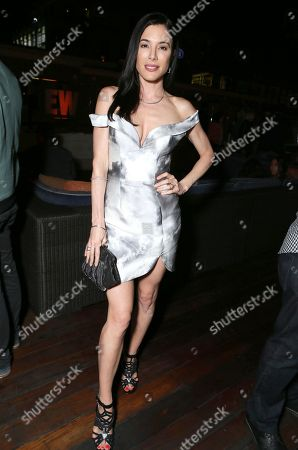 Jaime Murray attends Entertainment Weekly's Annual Comic-Con Closing Night Celebration at the Hard Rock Hotel, in San Diego