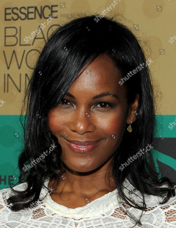 Robinne Lee arrives at the 5th Annual ESSENCE Black Women in Music reception, on at 1 OAK in Los Angeles, Calif
