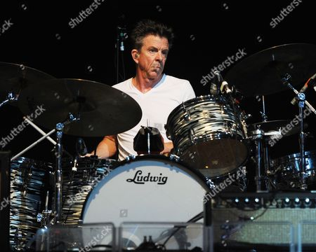 Stock Image of Chris Layton performs on opening night of the Experience Hendrix 2014 Tour at the Seminole Hard Rock Hotel and Casinos' Hard Rock Live on in Hollywood, Florida