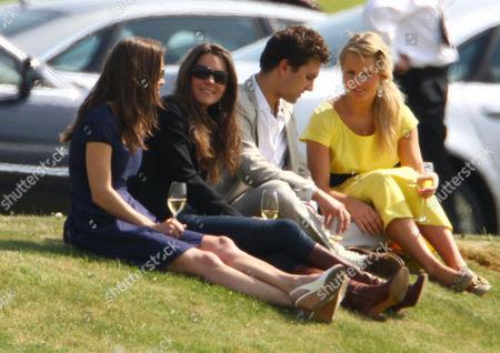 Pippa Middleton, Catherine Duchess of Cambridge, Thomas Van Straubenzee and Melissa 'Missy' Percy