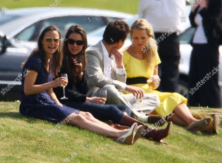 Pippa Middleton, Catherine Duchess of Cambridge and Thomas Van Straubenzee