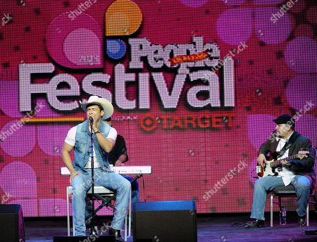 Singer Bobby Pulido performs oonstage at Festival People en Espanol 2013, on at Henry B. Gonzalez Convention Center in San Antonio, Texas