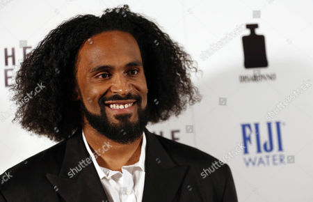 """Stock Photo of Ronny Turiaf arrives at the premiere of """"To The Wonder"""" hosted by FIJI Water on in Los Angeles"""