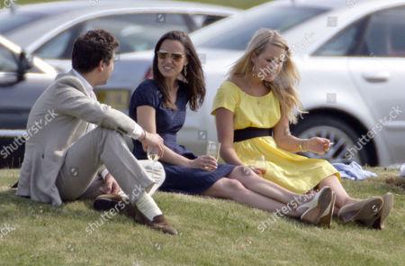 Thomas Van Straubenzee, Pippa Middleton and Melissa 'Missy' Percy
