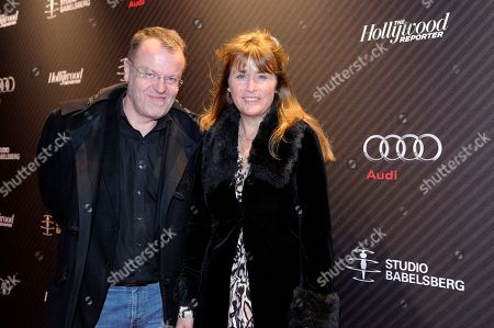 Director Stefan Ruzowitzky and guest attend The Hollywood Reporter party held at Borchardt's Restaurant to celebrate the 2014 Berlin International Film Festival with Studio Babelsberg and Audi,, in Berlin